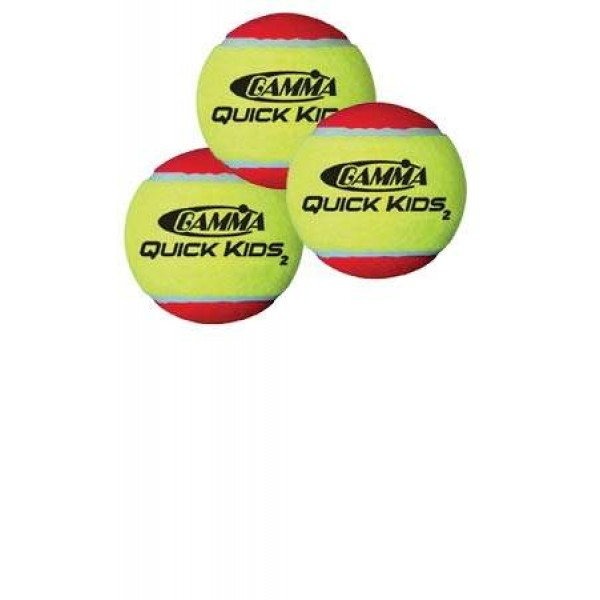 Gamma Quick Kids 36 Balls (Red) 60x