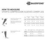 Bauerfeind Sports Compression Lower Leg Calf Sleeves