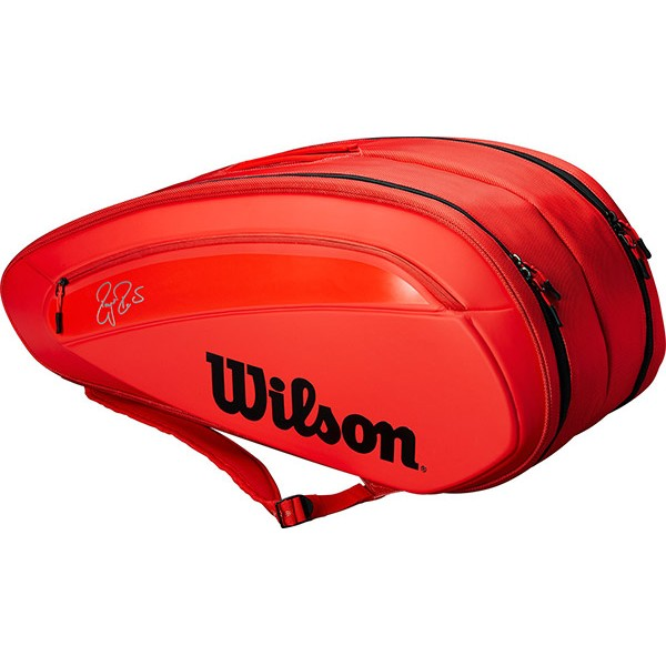 Wilson Federer DNA X 12 bag (Red)